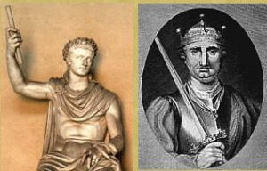 Roman Emperor Claudius, William the Conqueror