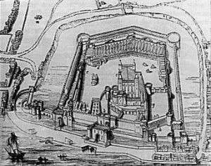 Sketch of the Tower complex